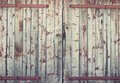 Background old wooden barn door Royalty Free Stock Photo