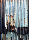 Background of old zinc plate with dirt stain on surface Royalty Free Stock Photography