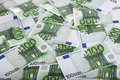 Background of one hundred euro. Stock Photography