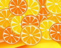 Background - Orange Royalty Free Stock Image