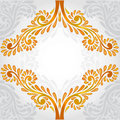 Background orange pattern banner Stock Photos