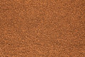 Background out of granulated coffee can be used as a texture Stock Image