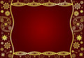 Background with pattern and frame design for greeting card Royalty Free Stock Photo