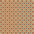 Background pattern light brown with green dots vector illustration Royalty Free Stock Image