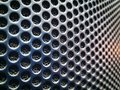 Background of Perforated Audio Speaker Texture Royalty Free Stock Photo