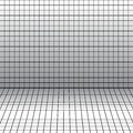 Background with a perspective grid vector Royalty Free Stock Images
