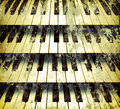 Background piano keys Royalty Free Stock Image