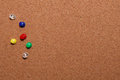Background pin board with pins Royalty Free Stock Photos