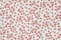 Background pink fabric with flowers glamour vintage Stock Photo
