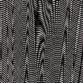 Background psychedelic pattern black white Stock Photos