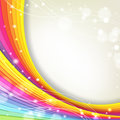 Background with rainbow colors and sparkles Royalty Free Stock Photo