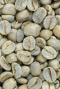 Background raw unroasted green coffee beans Royalty Free Stock Photography