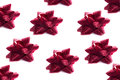 Background of Red Bows Royalty Free Stock Photo
