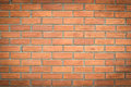 Background of red brick wall pattern texture Royalty Free Stock Photo