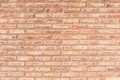 Background from a red brickwall Royalty Free Stock Photo