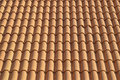 Background Of Red Clay Tiles Royalty Free Stock Photo
