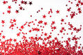 Background: Red Stars Royalty Free Stock Photo