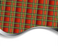 Background with red tartan Royalty Free Stock Images