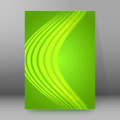 Background report brochure Cover Pages A4 style abstract glow02