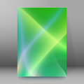 Background report brochure Cover Pages A4 style abstract glow08