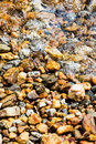 Background rocks in the water Royalty Free Stock Photo