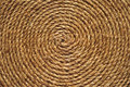 Background roll of old rough rope closeup Stock Image