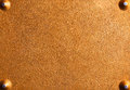 Background of rusty metal plate Stock Photography