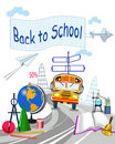 Background for school Royalty Free Stock Images