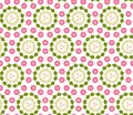 Background with seamles seamless floral pattern Stock Photos