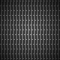 Background with Seamless BLack Carbon Texture Stock Image