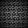 Background with seamless black carbon texture technology metal stainless steel titan chrome for internet sites web user interfaces Royalty Free Stock Photography