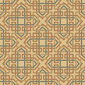 Background seamless celtic pattern the vector image Royalty Free Stock Photos