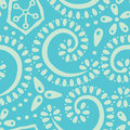 Background seamless pattern with swirls Royalty Free Stock Photos