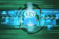 Background of security concept encryption information and data Royalty Free Stock Images