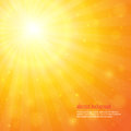 Background with shiny sunbeams abstract hot summer Stock Image