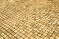 Background of small brick floor beautiful Royalty Free Stock Image