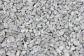 Background of small white and gray rocks texture Stock Image
