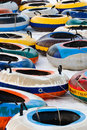 Background of snow tubing Royalty Free Stock Photo