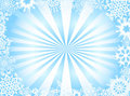 Background with snowflake Stock Photography