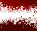 Background with snowflakes. Vector Royalty Free Stock Photos