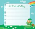 Background for St. Patricks Day Royalty Free Stock Photography
