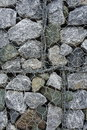 Background of stone and grating wall Royalty Free Stock Images