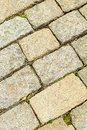 Background stone gray paving stone hard surface part of city square close-up background urban Royalty Free Stock Photo
