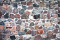 Background of stone wall texture photo. Royalty Free Stock Photo