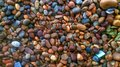 Colorful Gravel Background