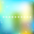 Background of summertime soft colored abstract for design eps vector illustration used transparency layers and mesh easy editable Royalty Free Stock Image