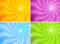 Background sun colorful sunny illustration corporate design Royalty Free Stock Photos