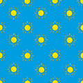 Background of the suns (blue) Royalty Free Stock Photo