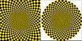Background taxi yellow black square circular design