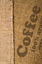 Background with texture of burlap Royalty Free Stock Photography
